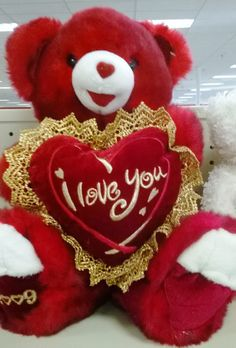 valentine's day giant bear