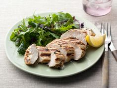 For a healthy dinner tonight, try these Marinated Chicken Breasts from Food Network Kitchen. An herbaceous marinade infuses the meat with high-impact flavor. Healthy Food List, Healthy Chicken Recipes, Healthy Dinner Recipes, Diet Recipes, Healthy Snacks, Grilled Recipes, Healthy Dinners, Healthy Kids, Recipies