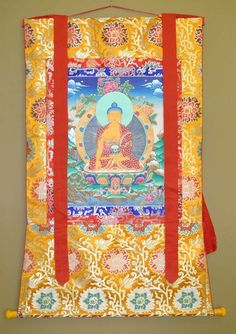 Museum of Spiritual Art - Thankga Painting Thangka Painting, Exhibit, Religion, Art Gallery, Spirituality, Museum, Concept, Display, Quilts