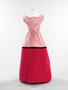 Infanta Charles James (American, born Great Britain, 1906–1978) Date: 1957 Culture: American Medium: silk