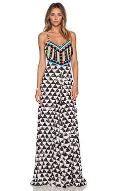 Mara Hoffman Embellished Maxi Dress in Alta