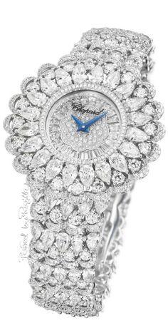 Rosamaria G Frangini   High Whatch Jewellery   Chopard Diamond* Timepiece