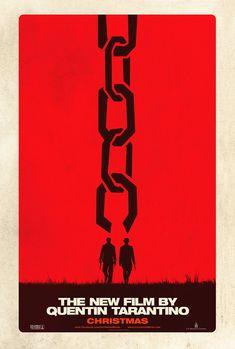 OMG non solo Tarantino ci rifà Django ( LOL) ma con questo poster teaser omaggia SAUL BASS.   GREAT!!