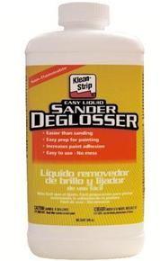 Painting over LAMINATE  1. Use sander deglosser 2. Coat w bonding primer 3. Use latex ENAMEL (coats/wears better)