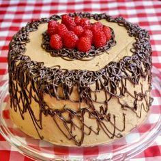 Raspberry Chocolate Buttercream Cake - Rock Recipes - Rock Recipes
