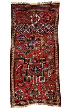 Kordi 2.51 x 1.22 m North-East Persia, circa 1910 I Perryman Carpets
