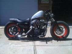 Harley Forty Eight Two Seater
