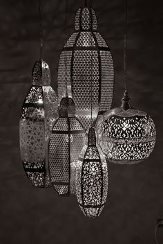 & more egyptian lights: Handcrafted metal light fixtures by Zenza