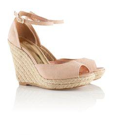Wedge heel sandal