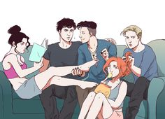 "lisa-jam: "" Malec Week Day 1: Family Day Magnus spending time with Lightwood…"