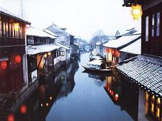 Zhouzhaung Water Town in Winter.