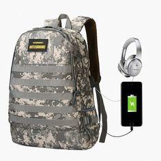 Buy Backpack Camouflage Multifunction USB Charging Travel Men Laptop Backpacks For PUBG 3 Level Tactical Same Paragraph Buy Backpack, Canvas Backpack, Jansport Backpack, Laptop Backpack, Daddy Diaper Bags, One Shoulder Backpack, Camouflage Backpack, Backpack Decoration