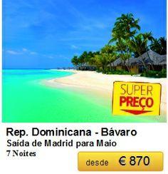 Rep. Dominicana - Saída de Madrid - Maio €870