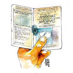"""Biblio Letras : 2 de abril """"Día del Veterano y de los Caídos en la... Largest Countries, Countries Of The World, Falklands War, South America, Catholic, Religion, Doodles, Plaza, Paper"""