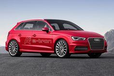 Découvrez la Audi A3 e-Tron, une voiture hybride rechargeable commercialisée à partir de 39 000 € avec jusqu'à 52 km d'autonomie.
