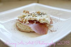 Brie + Prosciutto on a Crumpet ...   August, 2013
