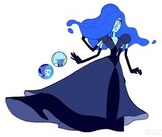 Lapis and Sapphire fusion