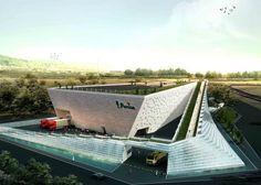 Persian Factory Second Prize Winning Proposal / Hooba Design Group