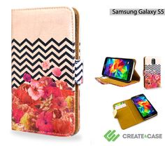 Artist Designed Samsung Galaxy S5 wallet style by CreateandCase, £21.99