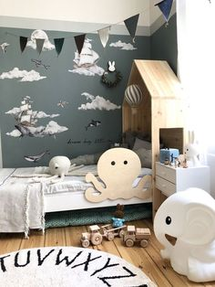 You can also see more ideas about boys bedroom sets furniture, boys bedroom sets room ideas, boys bedroom sets children. Boys Bedroom Sets, Baby Bedroom, Baby Boy Rooms, Kids Bedroom, Bedroom Decor, White Bedroom, Kids Rooms, 1920s Bedroom, Ideas Dormitorios