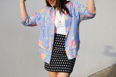 Ada Spragg // DIY Tessuti Tokyo Kimono Jacket + Vogue 1247 skirt