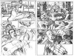 Check out another behind the scenes look at The Night Projectionist from thumbnails to pencils! Enjoy!