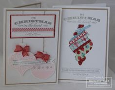 Stampin Up Christmas In The Heart