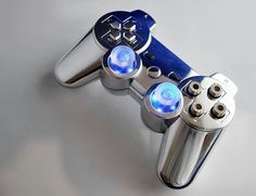 PS3 controller mod.. Would be better with the original x circle triangle and square.