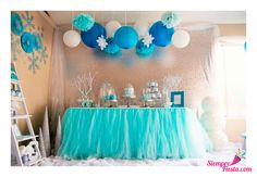 Bonitas ideas para tu próxima fiesta de Frozen. Consigue todo para tu fiesta en nuestra tienda en línea.