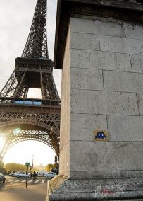 Invader, Paris #street #art