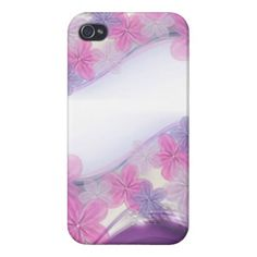 Pretty Flowers iPhone 4 Case