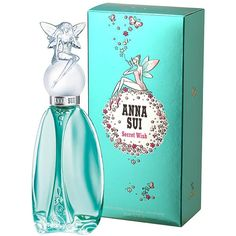 Anna Sui Secret Wish 50Ml Edt (78 BAM) ❤ liked on Polyvore featuring beauty products, fragrance, perfume, eau de toilette fragrance, anna sui fragrance, fruity perfume, edt perfume and anna sui