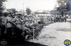 Batalionul 3 Reg 15 Infanterie la Rakospalota Armata Romana la Budapesta 1919 - Foto Roncea Ro - Ziaristi Online - Arhivele Nationale 2