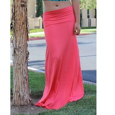 Sexy Maxi Skirt Long Full Length Skirt High by amandasmithltv, $13.99 I need a lot of these!