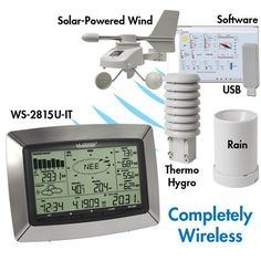 Have to have it. La Crosse Technology Pro Center Weather Station $