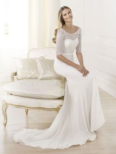 79d98c20b40 Svatební šaty Pronovias Laima Pronovias Wedding Dress
