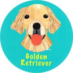 マイ @Behance プロジェクトを見る : 「021   Golden Retriever」 https://www.behance.net/gallery/42194049/021-Golden-Retriever
