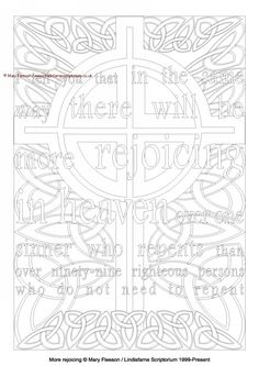 Lindisfarne Scriptorium, the Gallery : More rejoicing - Multicoloured Meditations - Downloadable / Printable - Colouring Sheet [MC-1539] - £4.00,
