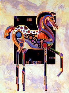 Best Of Show This horse is another of my signature pieces. For every five paintings that I do, one seems to be a horse. They are beautiful, elegant large animals and I love painting them in any form. by Bob Coonts