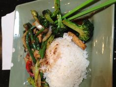 Stir Fry Green Beans- Pad Prick King - My favorite Thai dish. Interesting to order it with a group of people tittering the whole time.