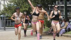 #Runners bare (almost) all in Cupid's Undie Run - Western Advocate: Western Advocate Runners bare (almost) all in Cupid's Undie Run Western…