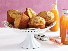 Peaches and Honey Muffins