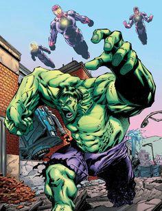 Hulk (Bruce Banner) by Aaron Lopresti