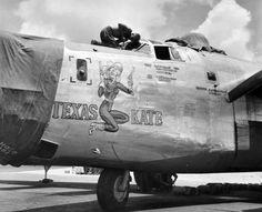 "B-24 Liberator ""TEXAS KATE"""