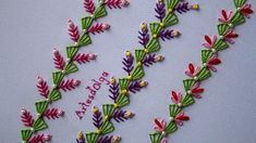 Hand Embroidery Decorative Stitches You Should Know - Kurti Blouse Hand Embroidery Tutorial, Hand Embroidery Stitches, Embroidery Techniques, Ribbon Embroidery, Honeycomb Stitch, Learning To Embroider, Border Embroidery Designs, Crazy Quilt Stitches, Feather Stitch