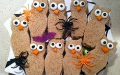 Healthy Halloween ideas for kids: for T's Preschool Halloween Party or Thanksgiving Feast