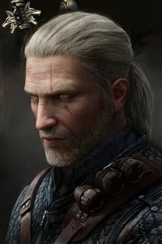 The Witcher 3 Portraits - Created by Astor Alexander The Witcher 3, The Witcher Wild Hunt, Witcher 3 Geralt, The Witcher Books, Witcher Art, Character Portraits, Character Art, Witcher Wallpaper, Pinterest Instagram