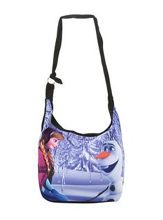 Disney Frozen Anna & Olaf Hobo Bag | Hot Topic- the girl loves purses