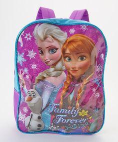 3eb6dfbad Frozen Frozen  Family Forever  Backpack