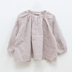 M&J Story Gingham Blouse (2C)